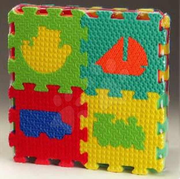 Puzzle din burete - Puzzle din burete Vehicles - Maşini Lee Chyun 16 bucăţi 15*15*1,2 cm