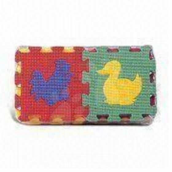 Pěnové puzzle - Pěnové puzzle Zvířátka z farmy 2 Lee 16 dílů 15*15*1,2 cm