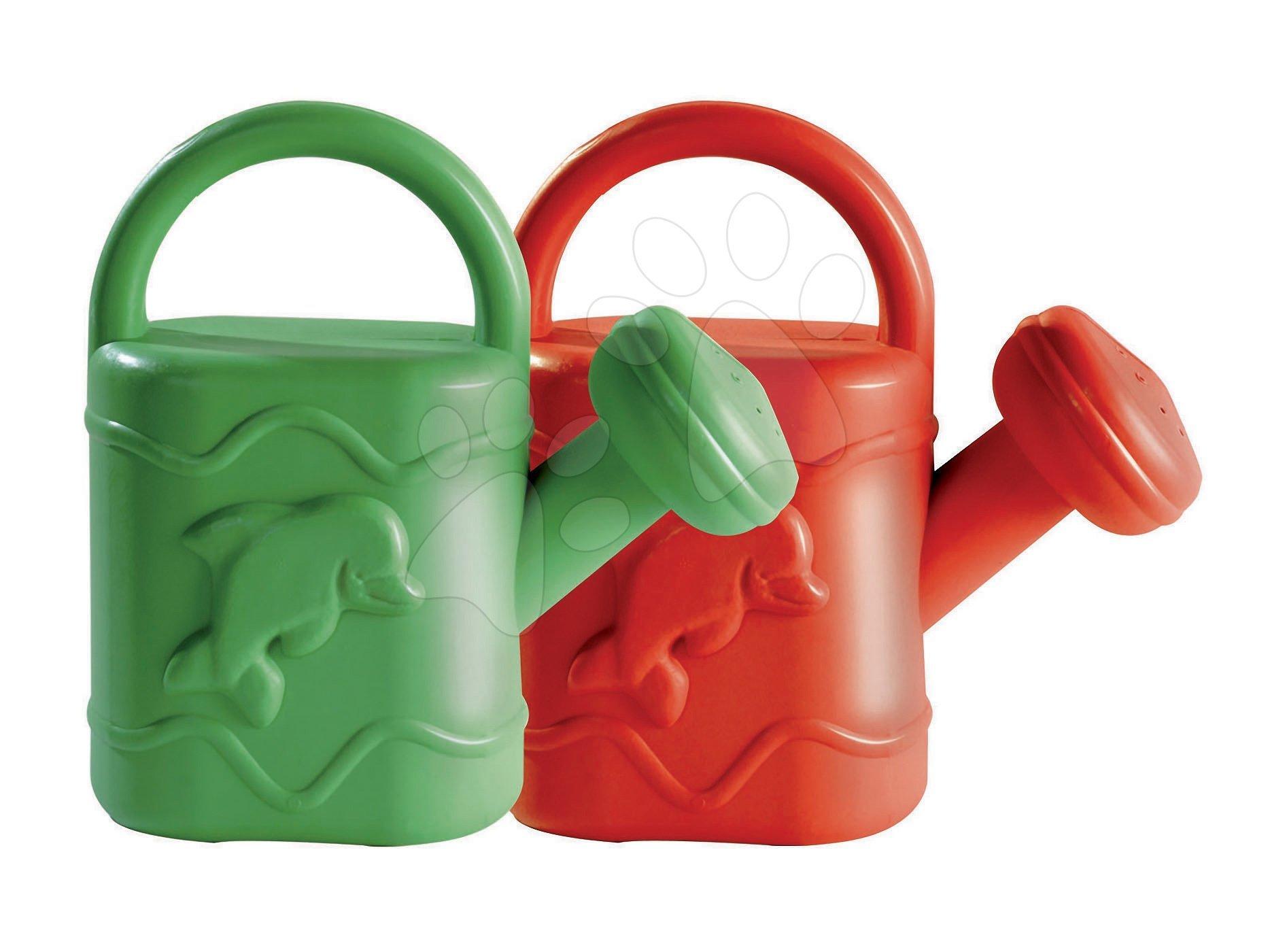 Krhličky - Krhlička Dohány stredná veľkosť (objem 1,5 litra) červená/zelená