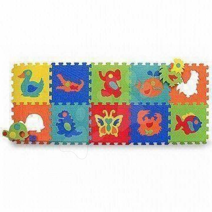 Pěnové puzzle - Pěnové puzzle Animals Pop Out Zvířátka Lee Chyun 10 dílů