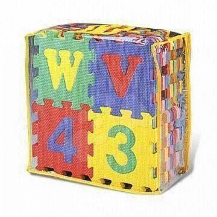Staré položky - Puzzle ABC a čísla Lee 26 dielov ABC a 10 dielov čísla