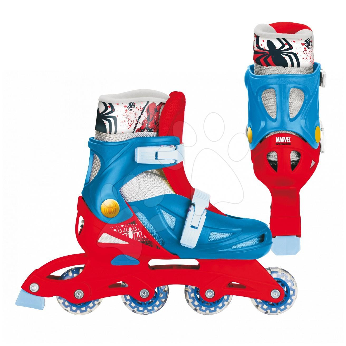 Kolieskové korčule In Line Spiderman Mondo veľkosť 38-41 od 5 rokov