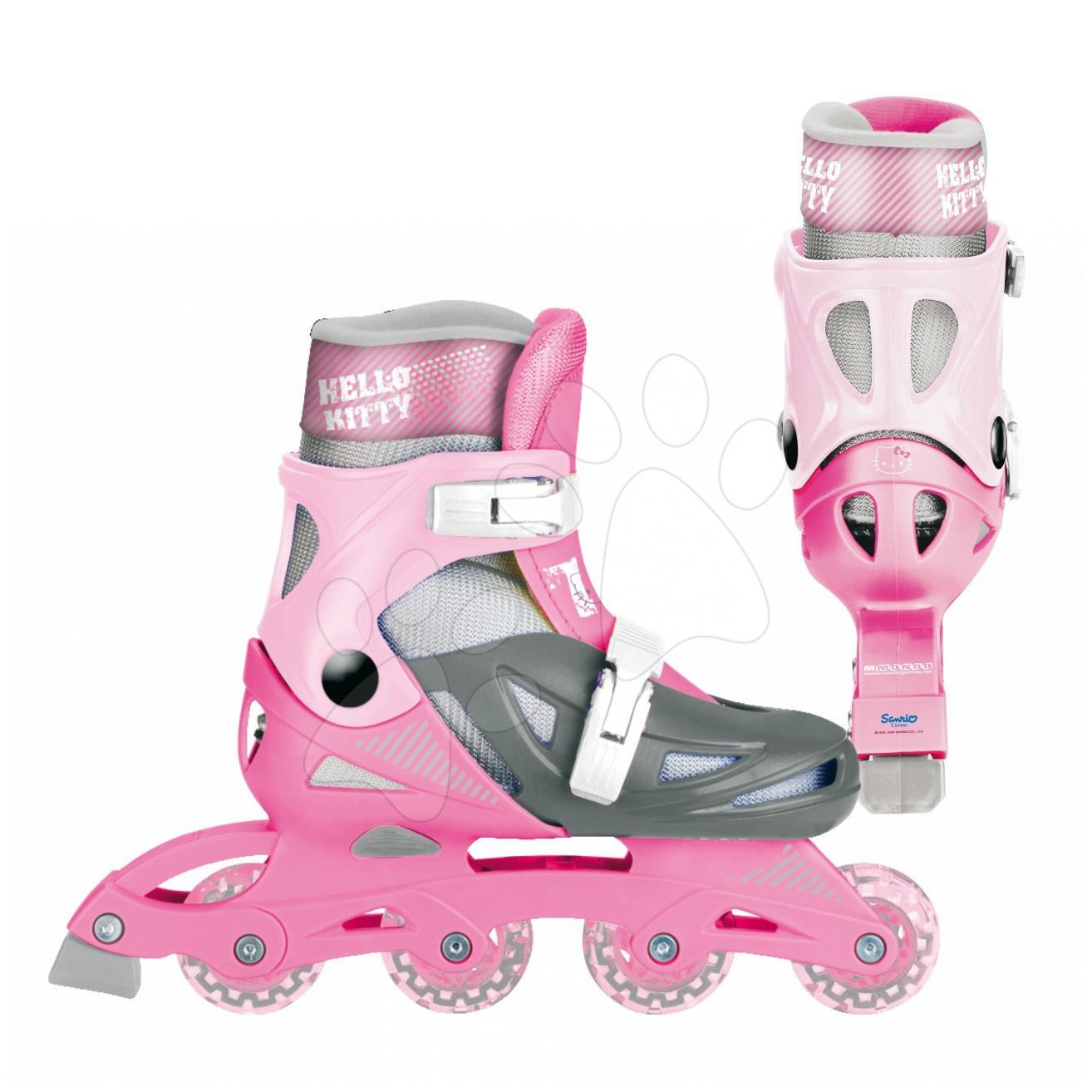 Kolieskové korčule In Line Hello Kitty Mondo veľkosť 30-33 od 5 rokov