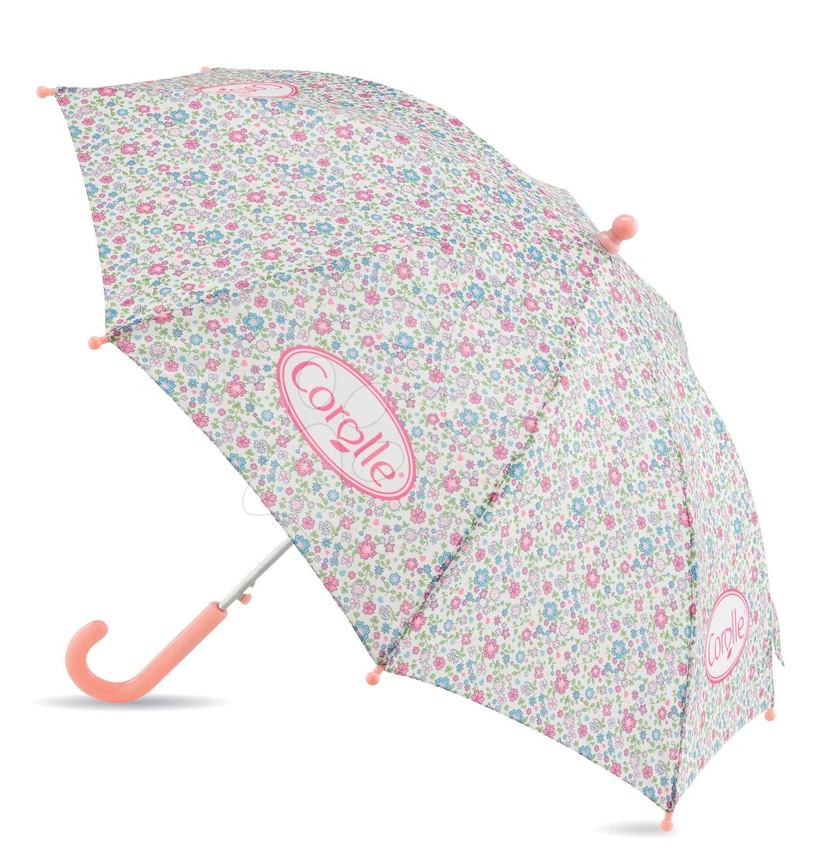 Školske torbe i ruksaci - Kišobran na cvjetiće Flowers Umbrella Les Bagages Corolle 62 cm ručka i 83 cm promjer