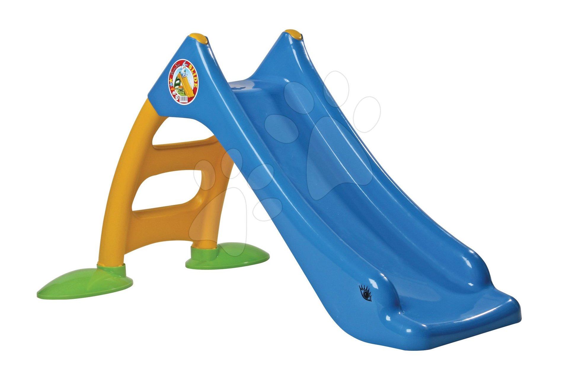 Dohány šmykľavka pre deti malá 424-3 modrá