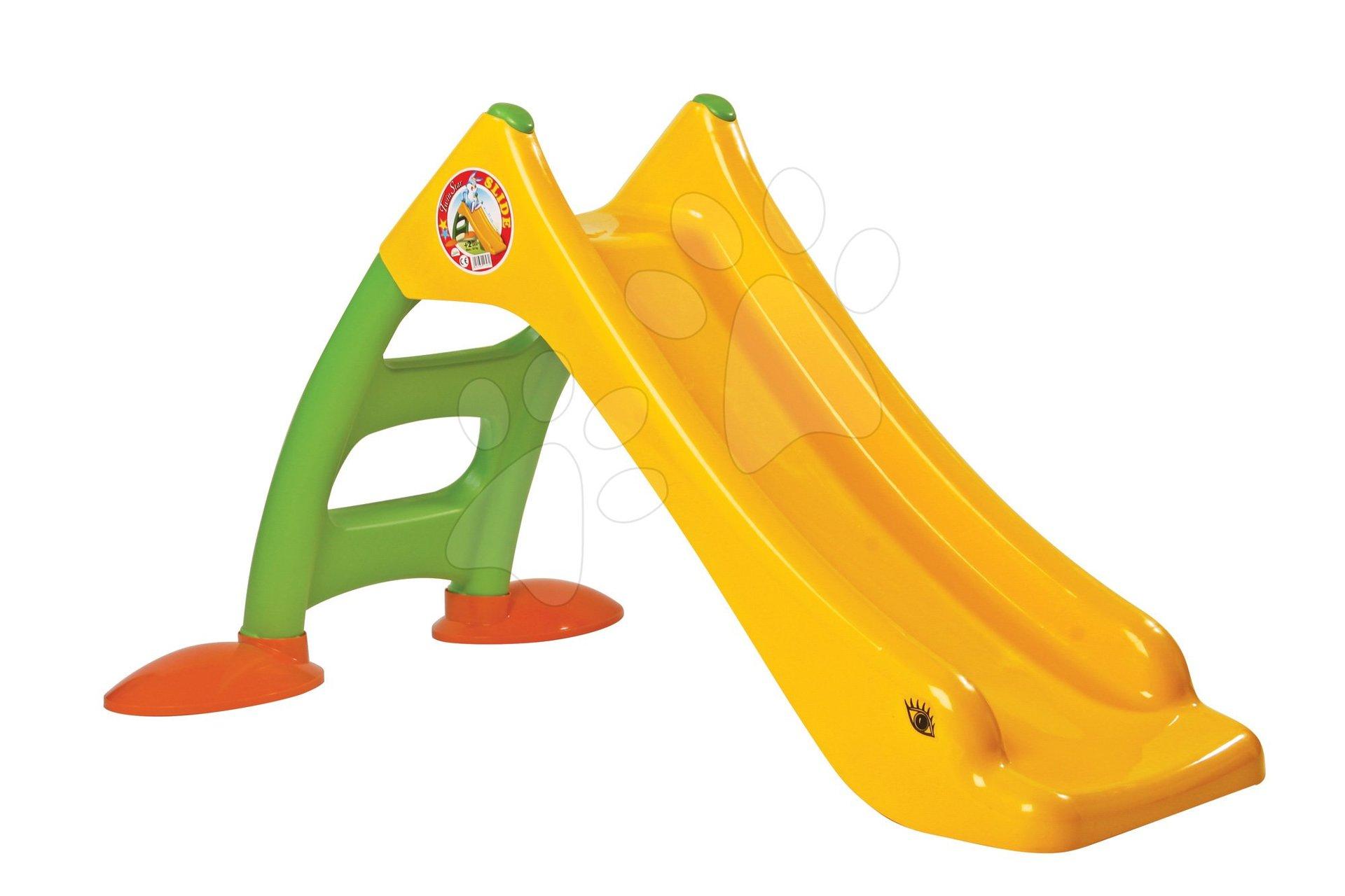 Skluzavky pro děti - Skluzavka Dohány délka 95 cm žlutá od 24 měsíců