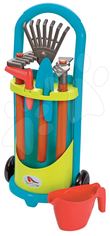 Vrtni voziček z orodjem Garden&Seasons Ecoiffier s 6 dodatki od 18 mes