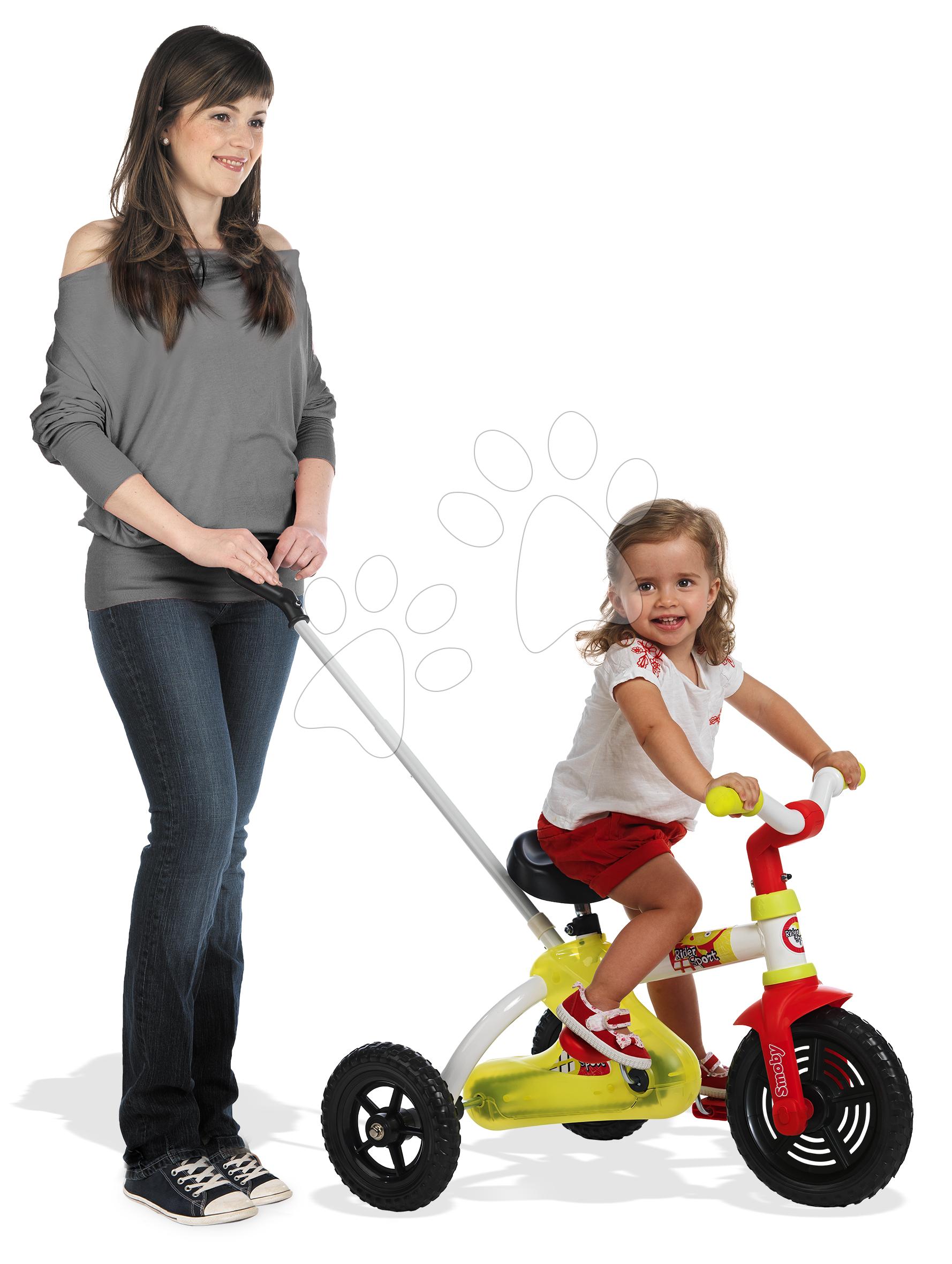 Řetězová tříkolka Sport Line Trike Smoby zeleno-červená od 15 měsíců