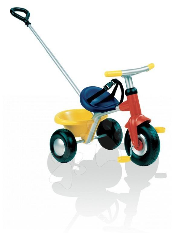 Tricicletă Be Fun Smoby cu mâner de la 15 luni