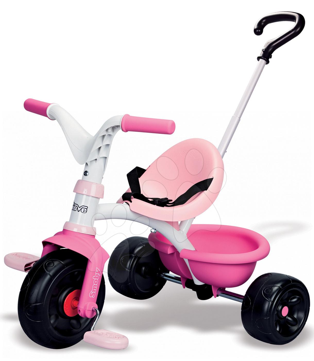 Tricikli Be Move Girl Smoby rózsaszín 15 hó-tól