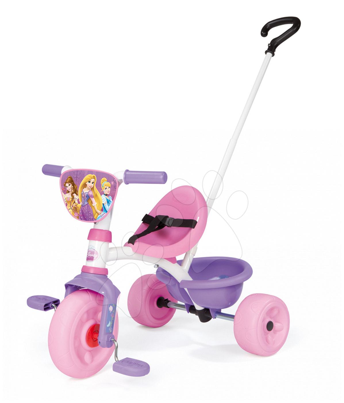 Tříkolka Princezny Be Move Smoby růžovo-fialová od 15 měsíců