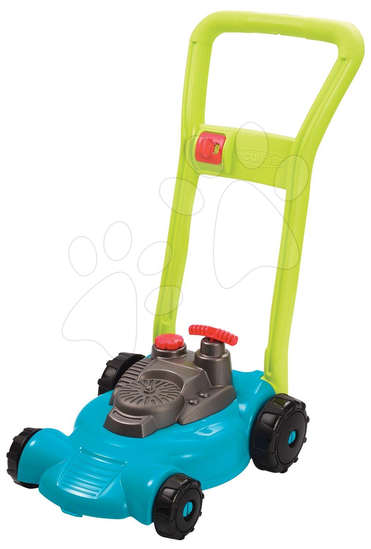 Maşină de tuns iarba de jucărie - Mașină de tuns iarba Garden&Seasons Écoiffier cu sunete de la 18 luni