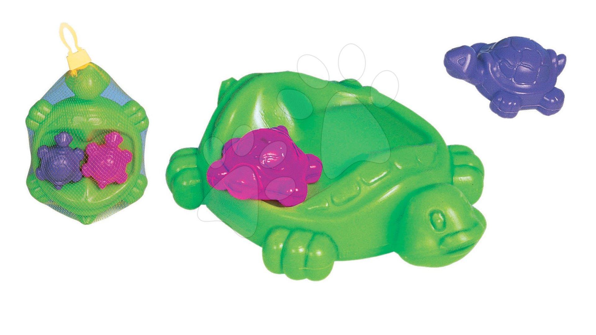 Hračky do vany - Hra do vody želví rodinka Dohány zelená od 3 let