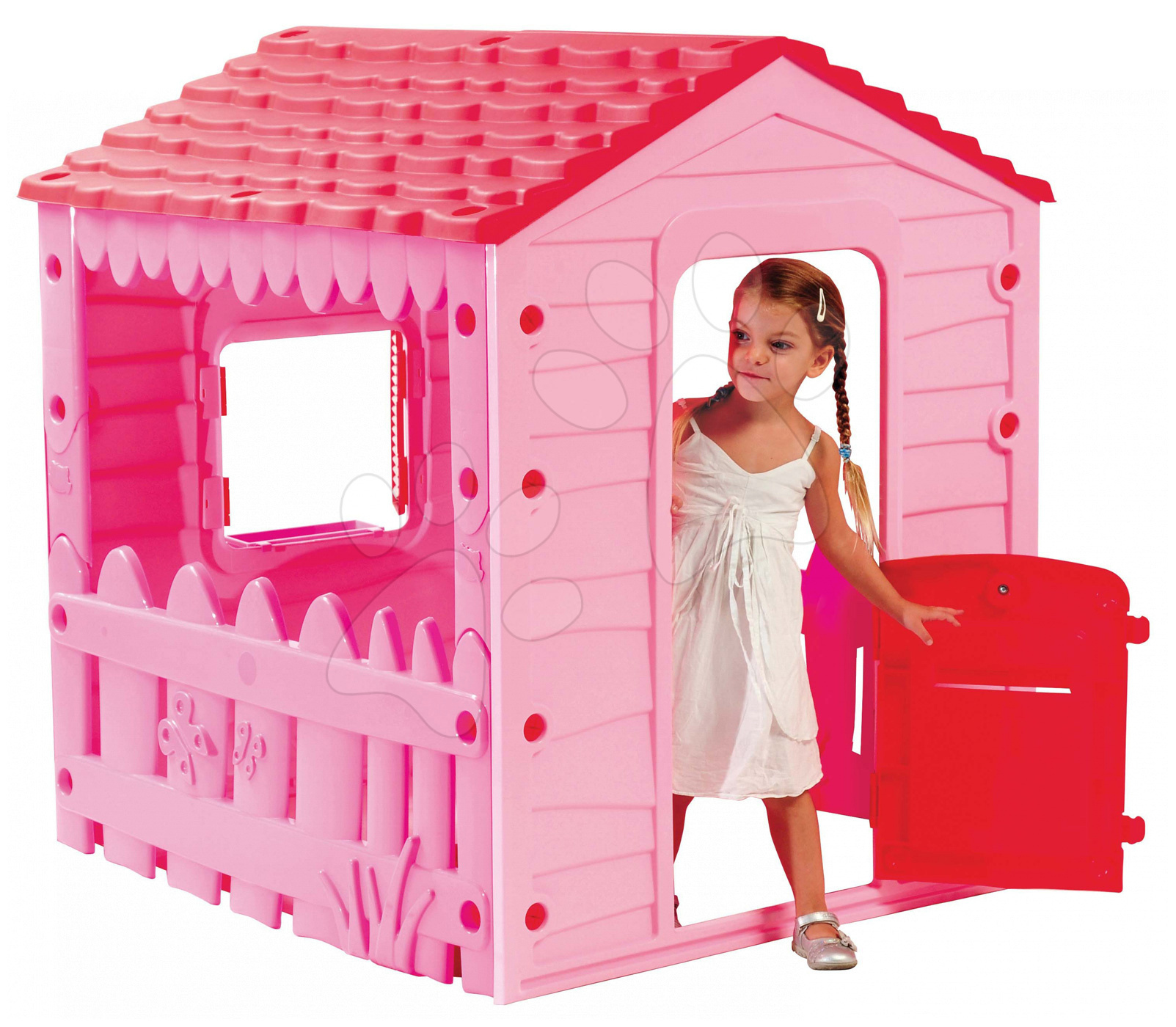 Domeček Farm House Starplast růžový od 24 měsíců