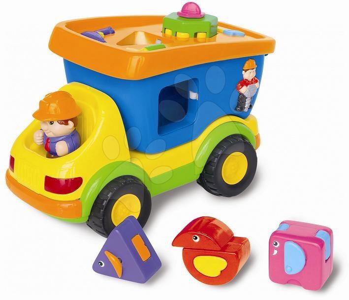 Mașina Activity Kiddieland electronică cu cuburi de la 18 luni