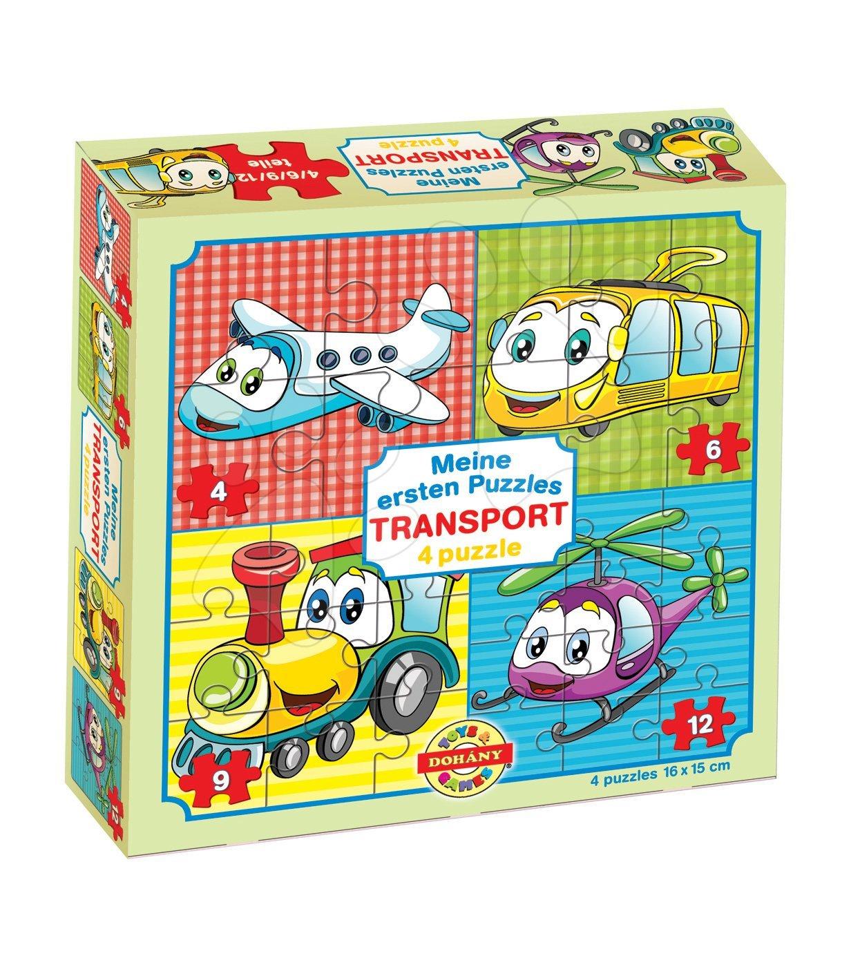 Dohány detské puzzle Moje prvé puzzle Transport 500-5