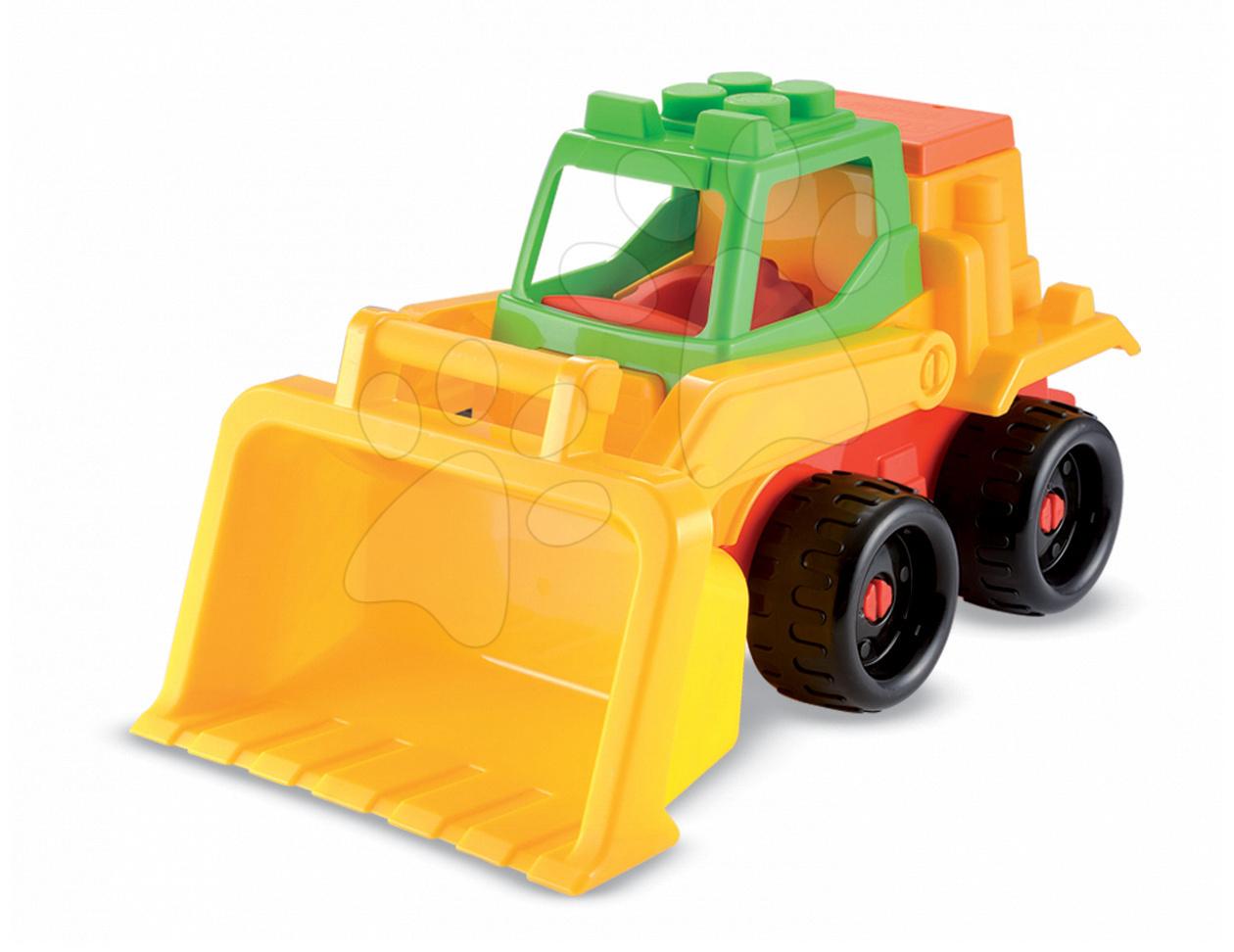 Stavebné stroje - Autíčko buldozér Écoiffier do piesku dĺžka 40,5 cm od 18 mes
