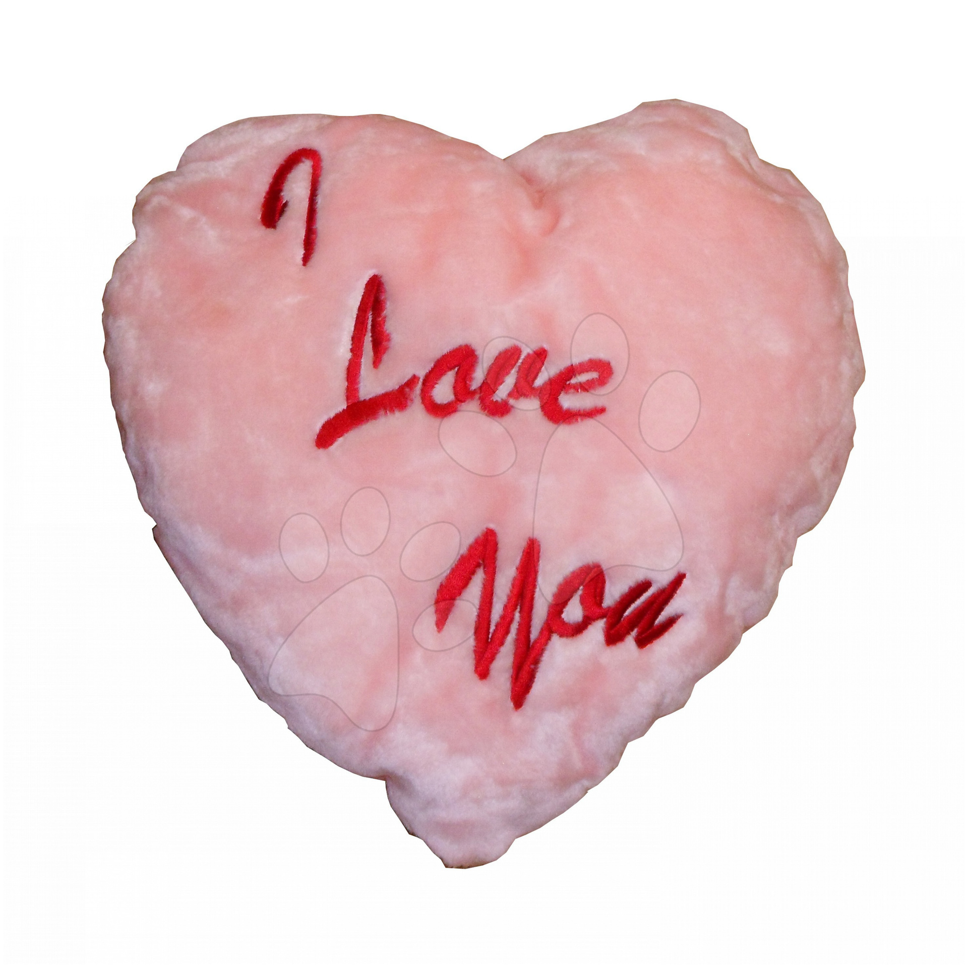 Vankúšik srdiečko Ilanit 40 cm ružové