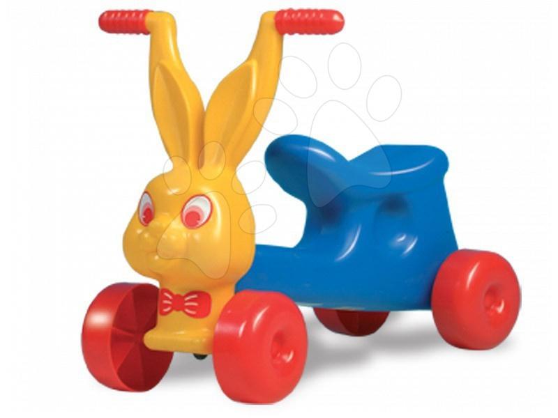 Motorete - Motocicletă iepuraș Dohány galbenă-albastră de la 18 luni
