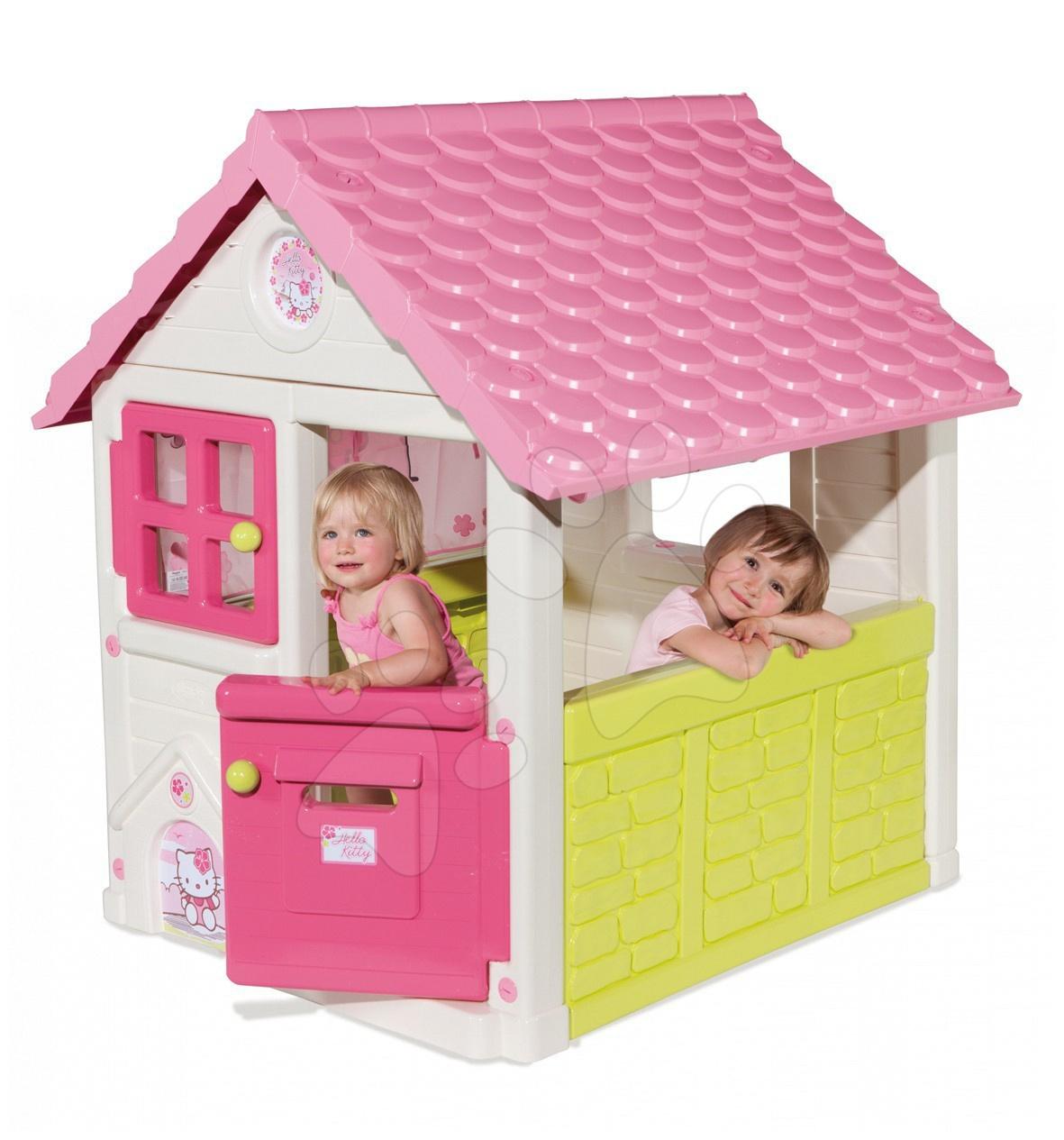 Hello Kitty Sweet domček Smoby s poštovou schránkou 125 cm vysoký s UV filtrom od 24 mes