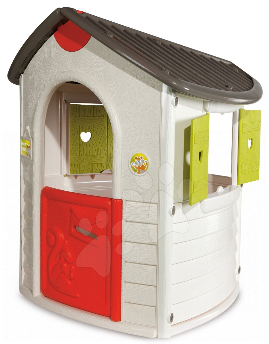 Domčeky pre deti - Domček Natur'Home Smoby UV filter výška 130 cm od 24 mes