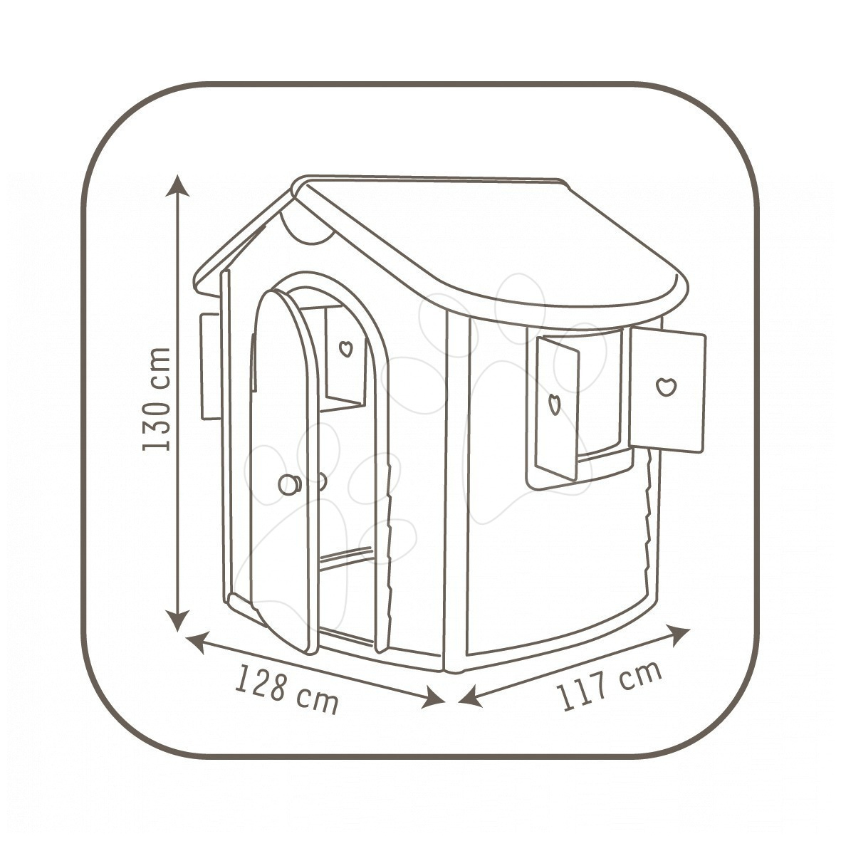 d tsk dome ek smoby jura lodge. Black Bedroom Furniture Sets. Home Design Ideas