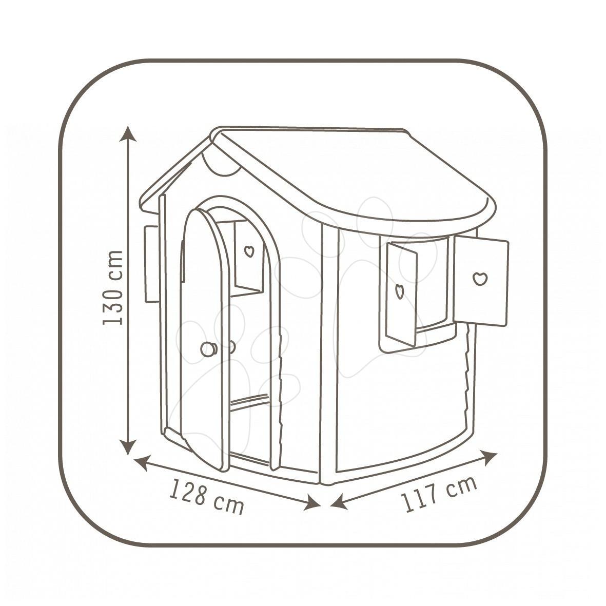 gyerek h zik smoby jura lodge. Black Bedroom Furniture Sets. Home Design Ideas