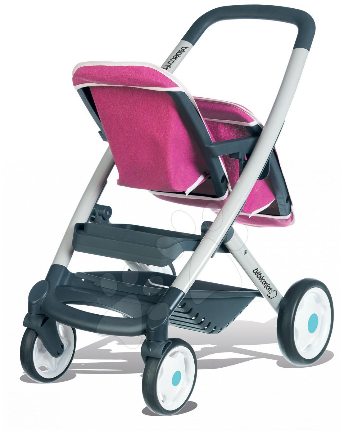 Babakocsi két játékbabáknak és hinta Smoby f8940845a2