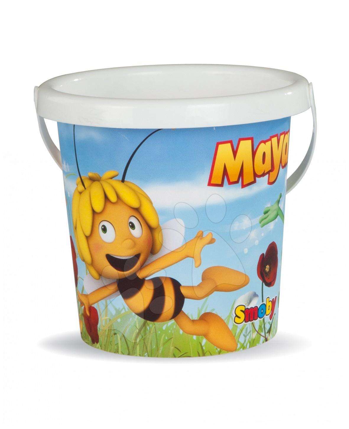 Vedro prázdne malé Včielka Maja Smoby 15 cm od 18 mes