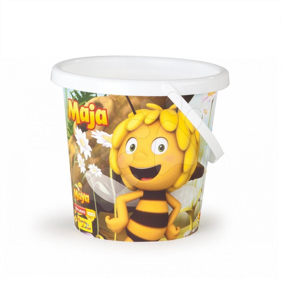 Vedro prázdne stredné Včielka Maja Smoby 18 cm od 18 mes