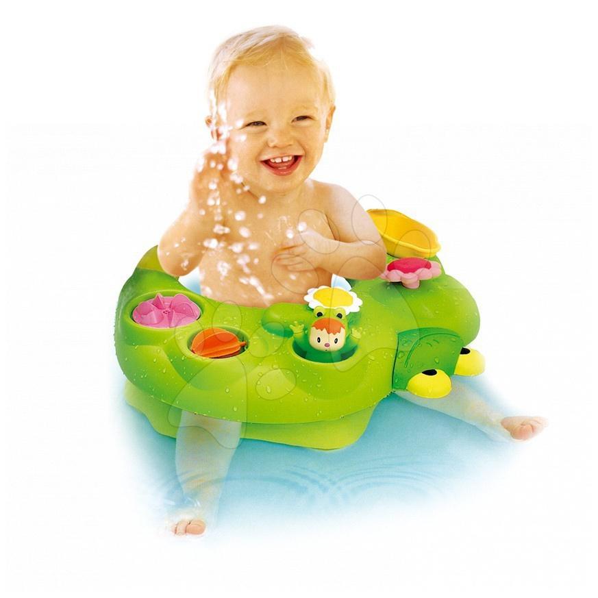 Staré položky - Sedátko do vody Cotoons žaba Wabap Smoby zelené