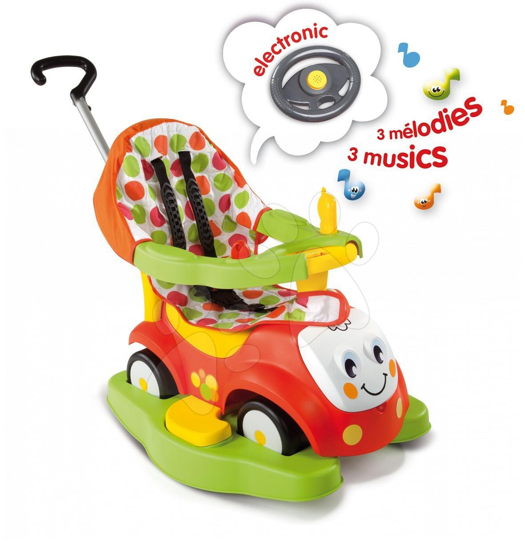 Produse vechi - Babytaxiu Maestro II Confort Smoby roșu-verde de la 6 luni