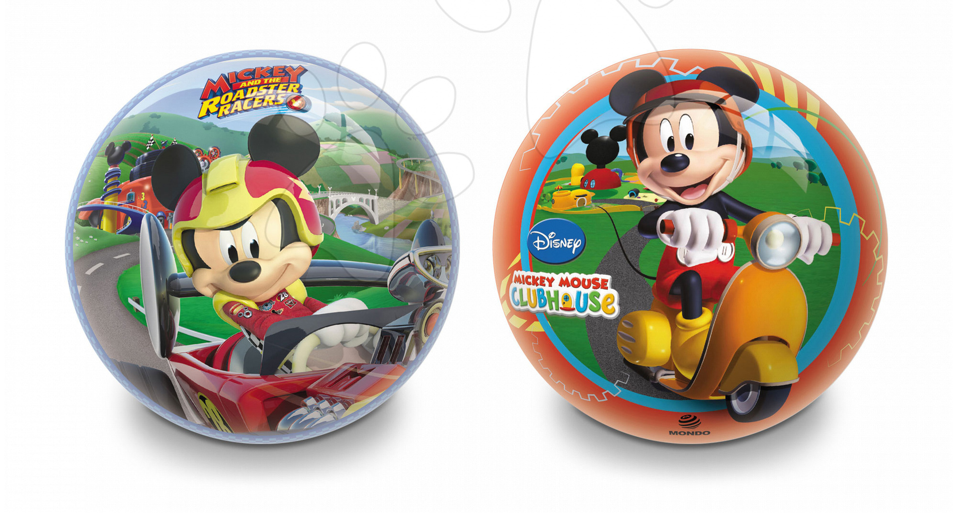 Pohádkový míč Mickey Mondo pryžový 14 cm