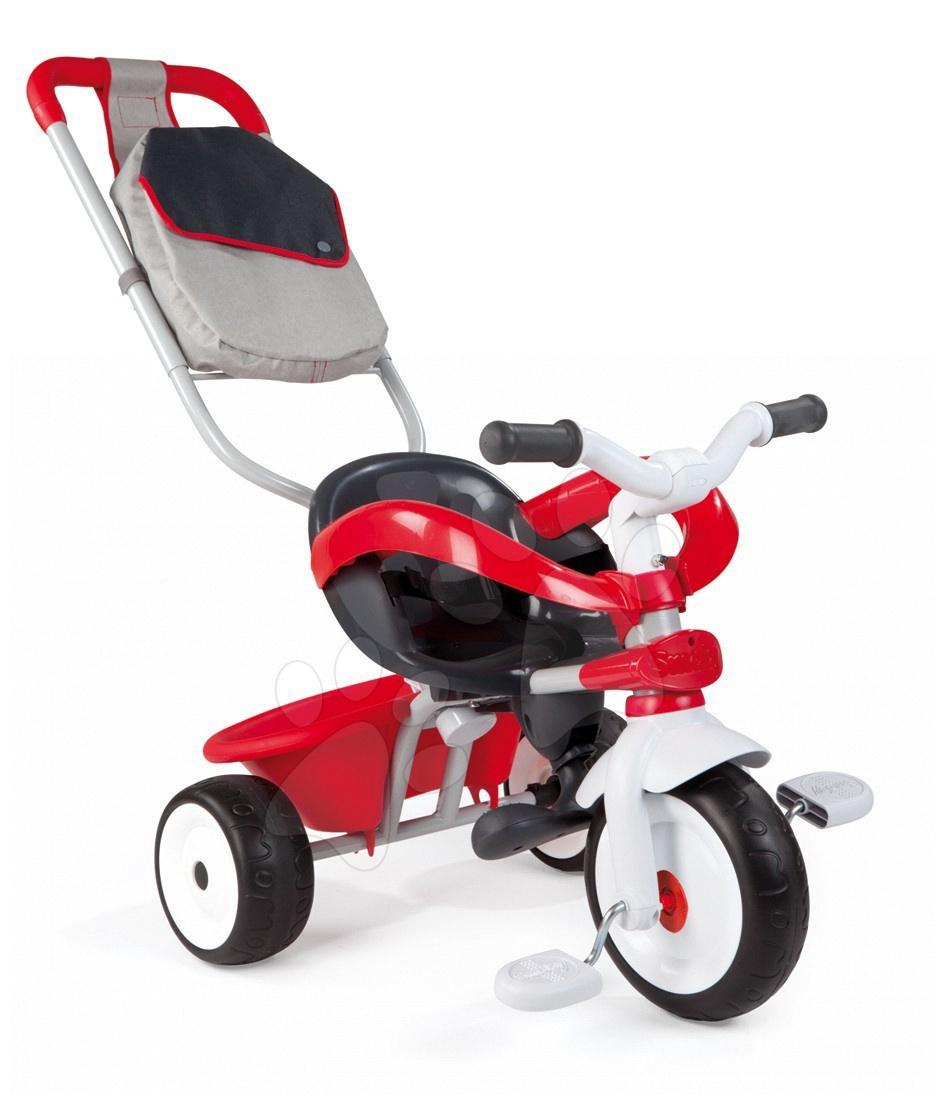 Trojkolka Baby Driver Smoby červená od 10 mes
