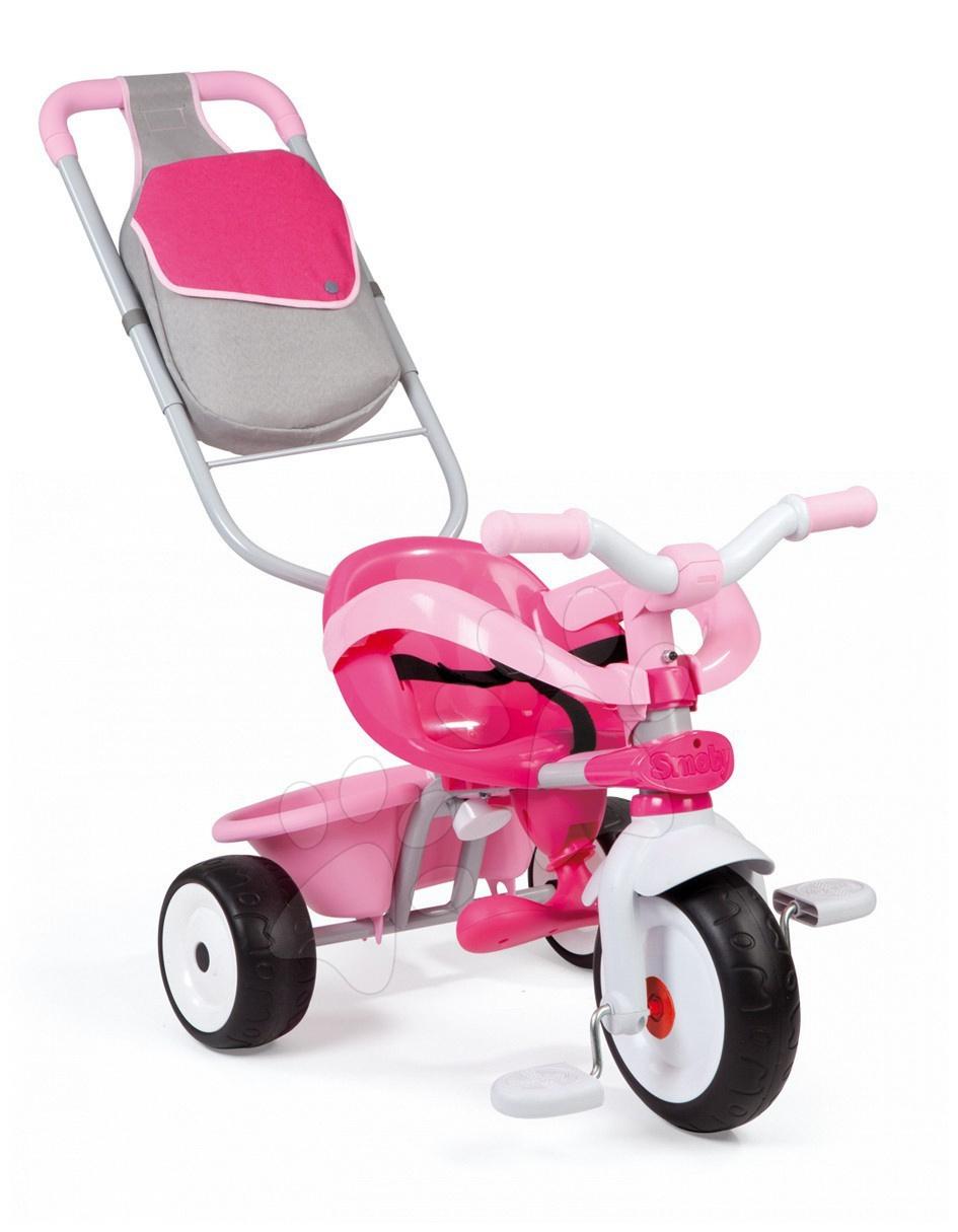 Trojkolka Baby Driver Smoby ružová od 10 mes