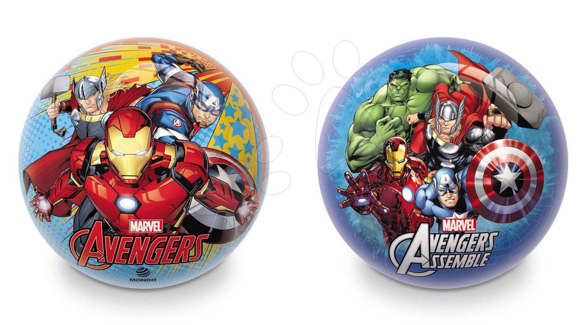 Pohádkový míč Avengers Mondo gumový 14 cm
