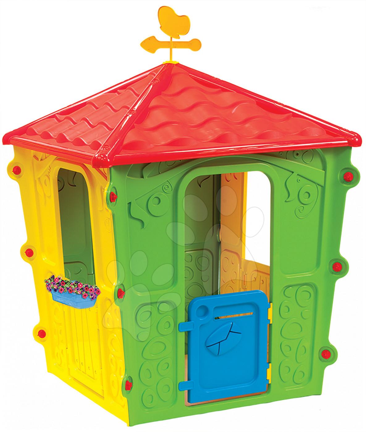 Domečky pro děti - Domek Country Square Starplast s motýlem od 24 měsíců