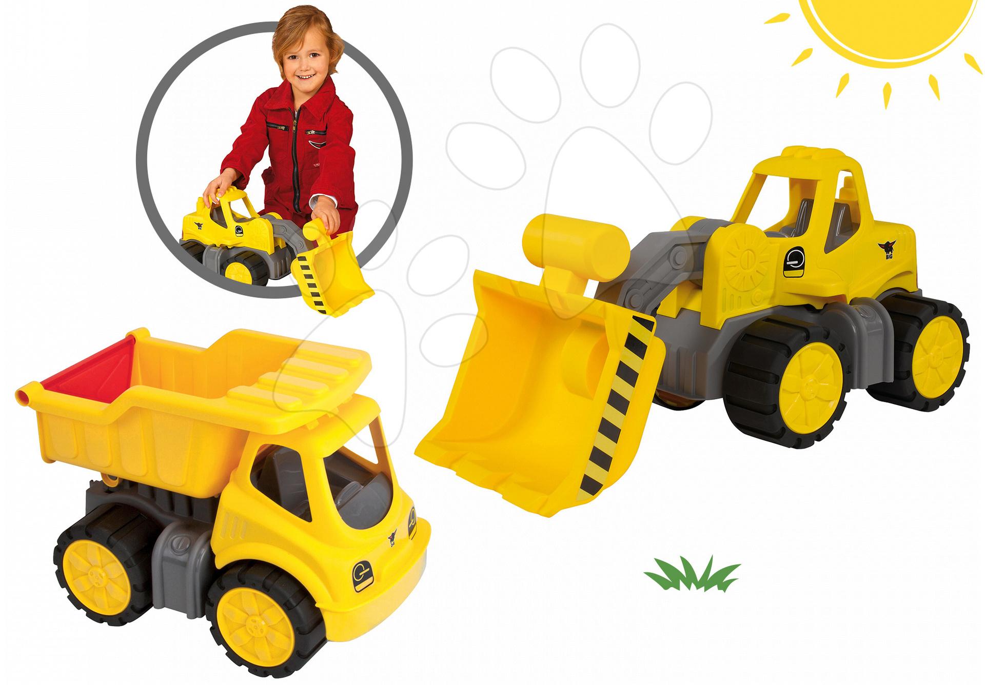 BIG set nákladné auto Power a nakladač pracovný stroj 56836-2