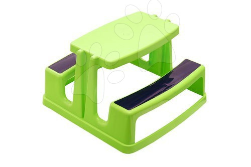 Piknikový stôl Starplast zelený, monoblok zelený, monoblok