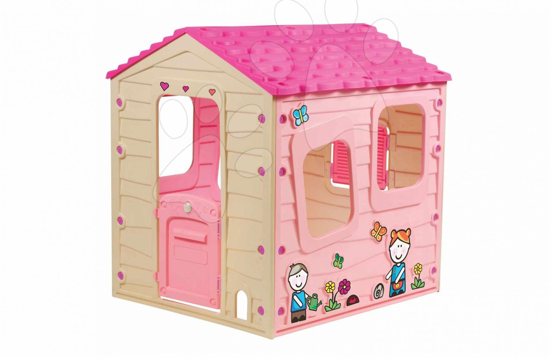 Domeček Fun Farm House Starplast růžový od 24 měsíců