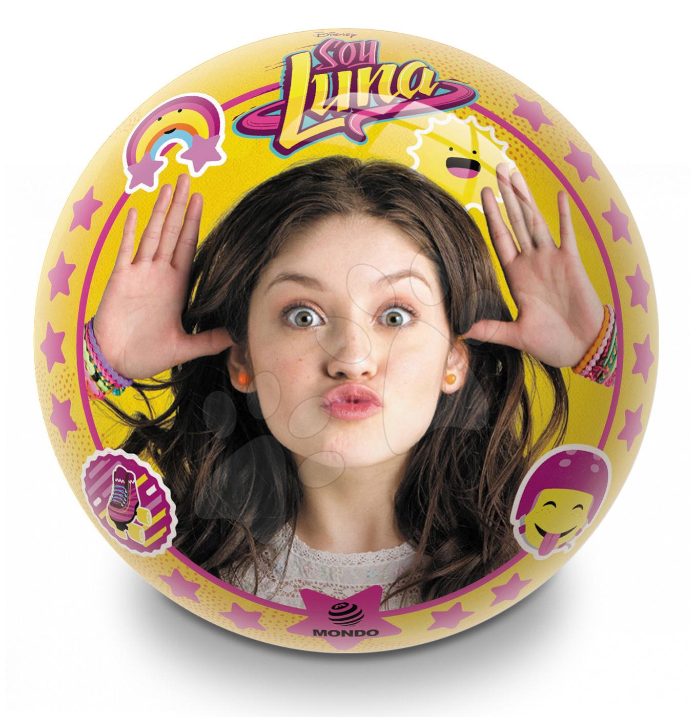 Rozprávková lopta Soy Luna Mondo gumená 14 cm