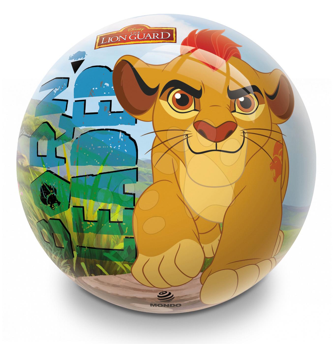 Pohádkový míč Lion Guard Mondo pryžový 14 cm