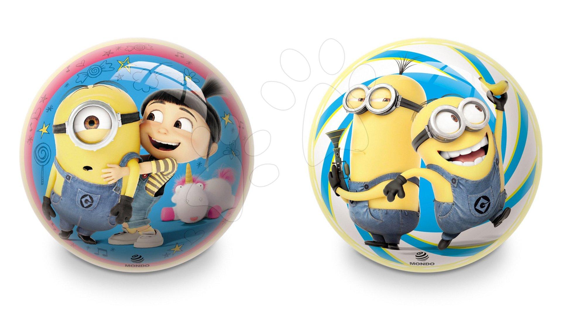Pohádkový míč Mimoni Mondo pryžový 14 cm