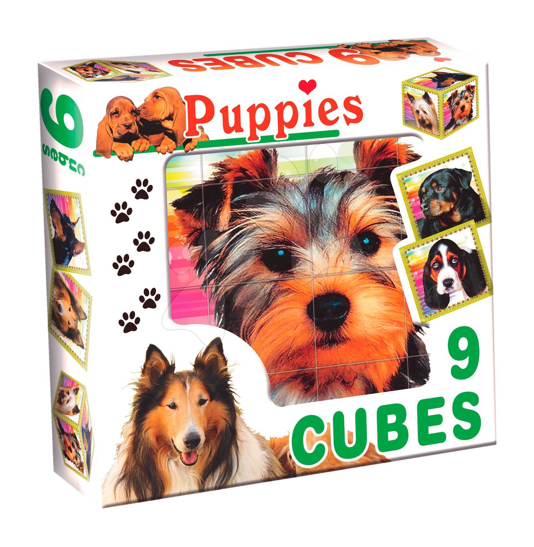 Pohádkové kostky - Pohádkové kostky psi Dohány 9 dílů