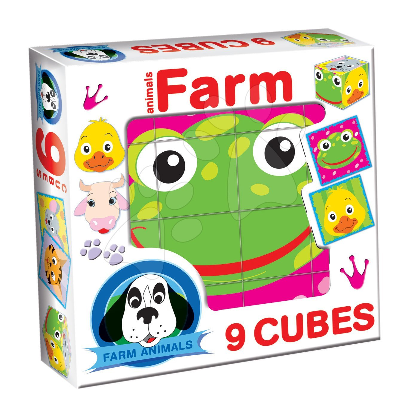 Rozprávkové kocky Farma Dohány 9 dielov