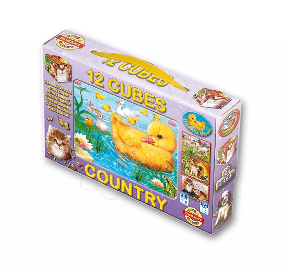 Pohádkové kostky - Pohádkové kostky Farma Dohány 12 dílů