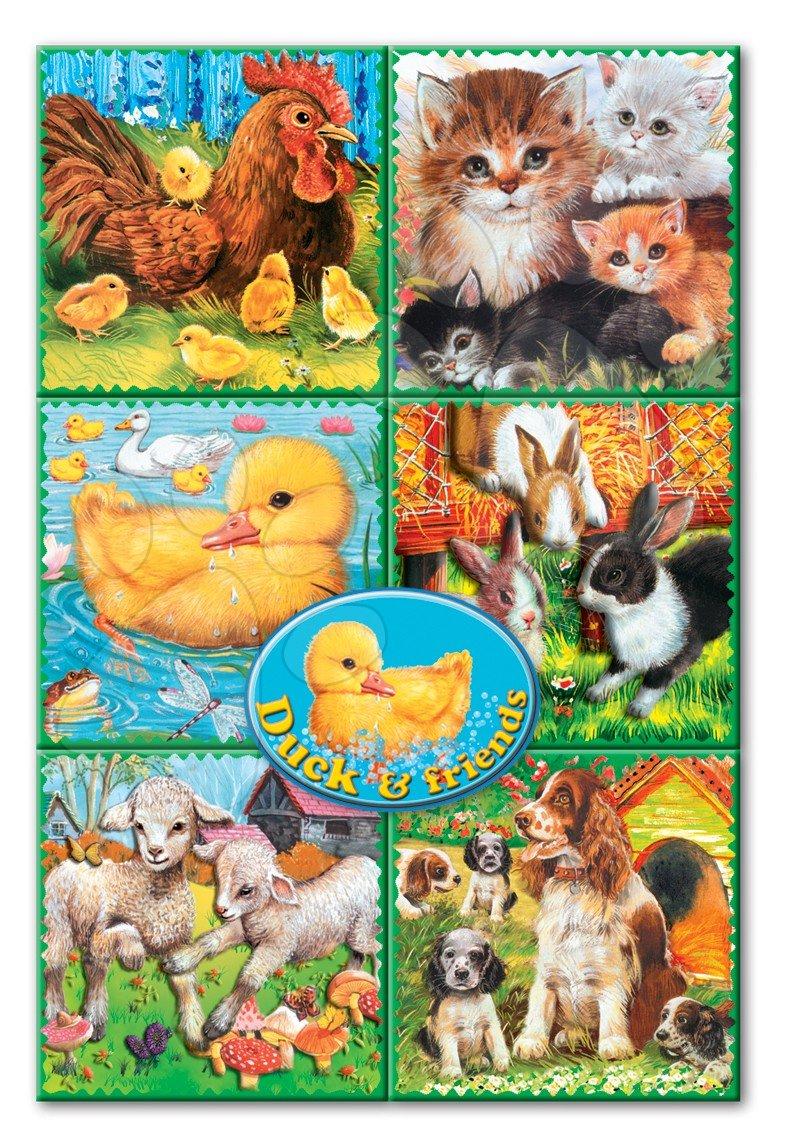 Rozprávkové kocky Domáce zvieratá Dohány 16 dielov