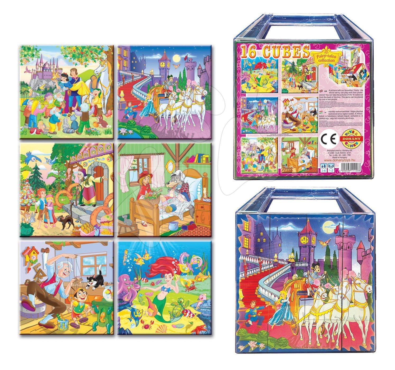 Rozprávkové kocky - Rozprávkové kocky Kolekcia rozprávok Dohány 16 dielov
