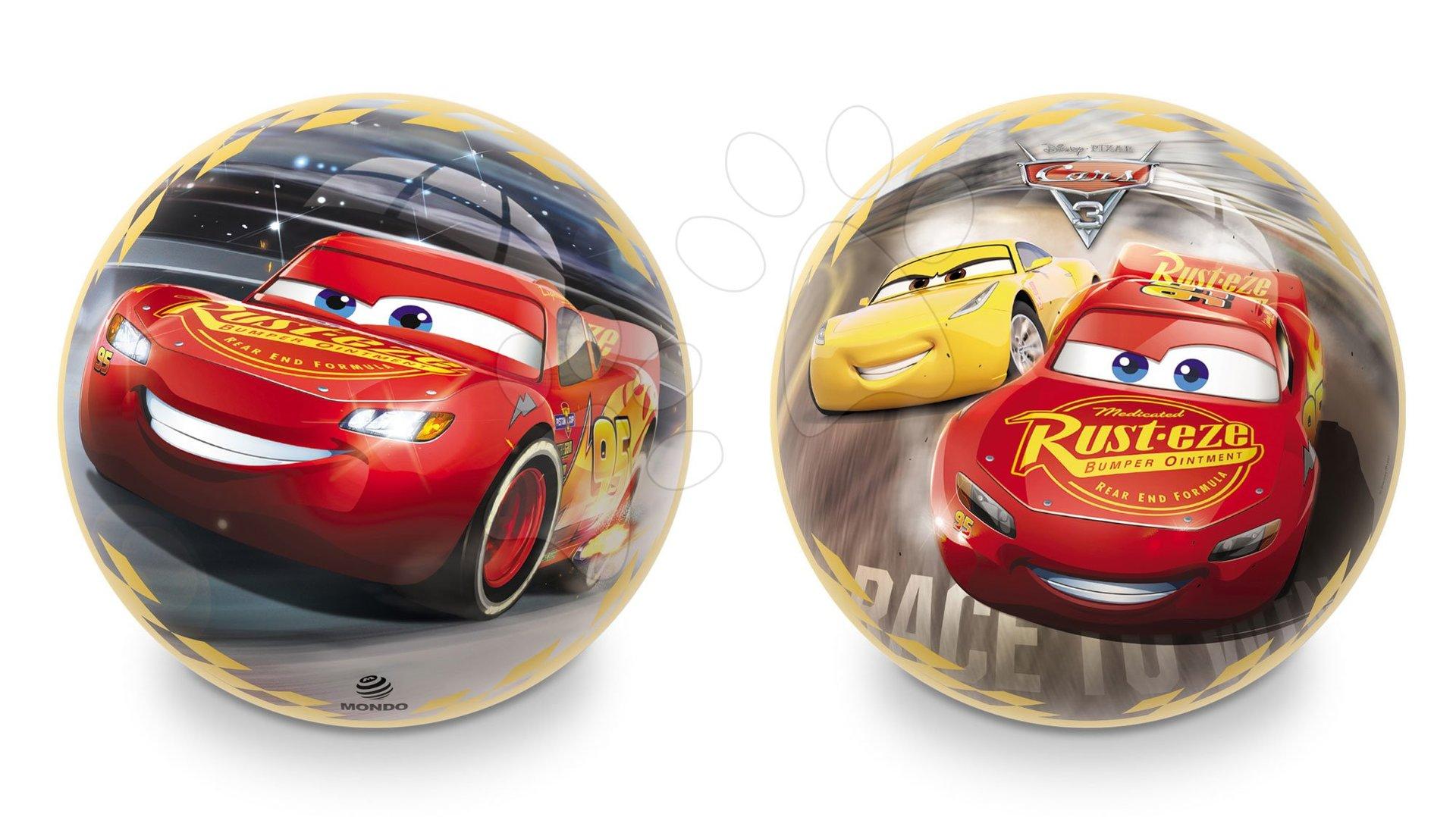 Pohádkový míč Auta Mondo pryžový 23 cm