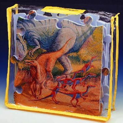 Puzzle iz pene - Puzzle iz pene Dino Lee Chyun 54 delov 60*90*1,2 cm